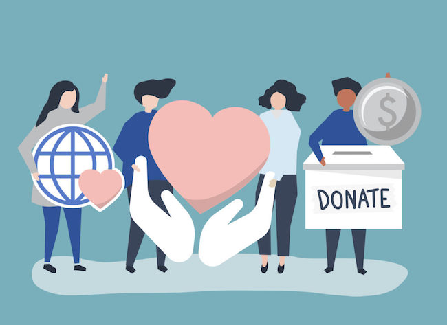 10 ways you can give back to charity